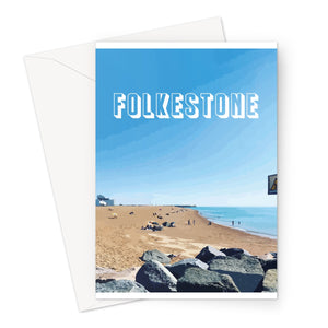 One Summers Day Greeting Card - Made In Folkestone