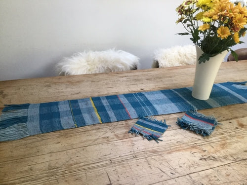 Table Runner & Mug Rugs Set - Yarncrafts - Made In Folkestone