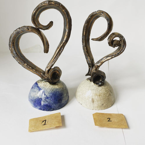 Stoneware Hearts - Kelly Johnston - Made In Folkestone