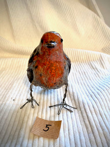 Ceramic Robins With Adjustable Legs - Kelly Johnston - Made In Folkestone