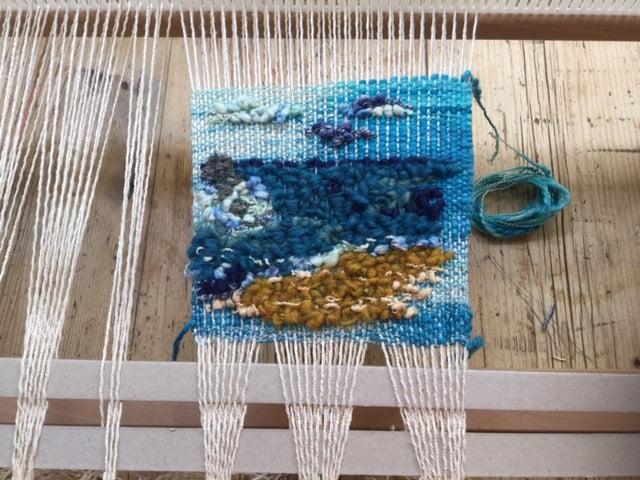 Incoming Tide Woven Wall Hanging - Yarncrafts - Made In Folkestone