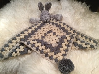 Crocheted Bunny Comforter Blanket - Yarncrafts - Made In Folkestone