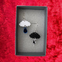 Load image into Gallery viewer, Cloud Earrings - R&R aka 2 Quirky Birds - Made In Folkestone
