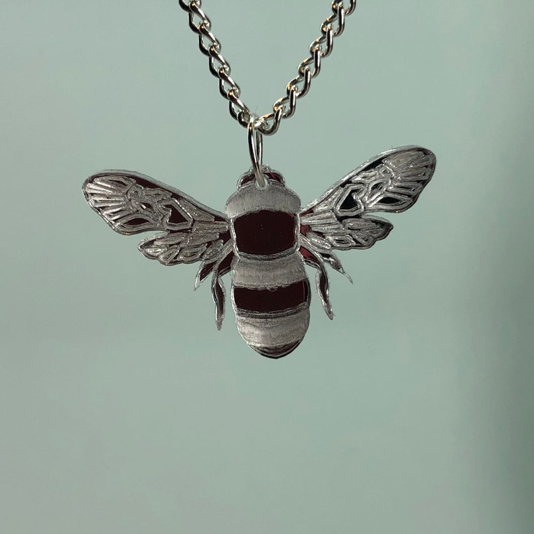 Small Bee Necklace - R&R aka 2 Quirky Birds - Made In Folkestone