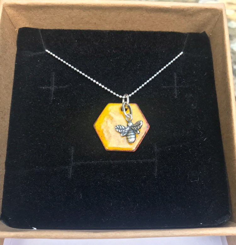 Busy Bee Necklace - Jewellery By Rebecca - Made In Folkestone