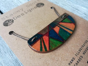 Hand Illustrated Necklace - S Scott Designs - Made In Folkestone
