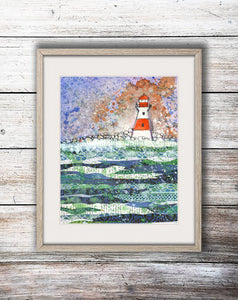 Fine Art Giclee Print - 'Lighthouse' - Hayley Restall - Made In Folkestone