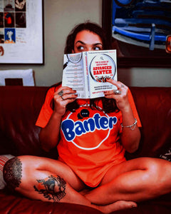 Banter Orange T-Shirt - The Quarter Masters - Made In Folkestone