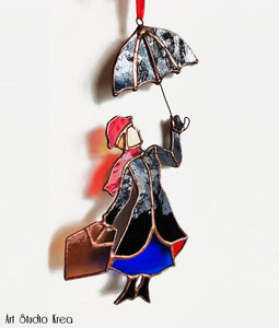 Mary Poppins Hanging Decoration - Art Studio Krea