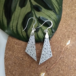 Lexi Pendant Leather Earrings