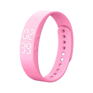 T5S Sports Calories Pedometer Smart Wristband Watch Bracelet Fitness Bracelet Smart Watches