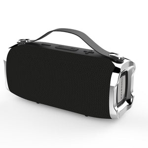 HOPESTAR H36 Portable Wireless Bluetooth 4.2 Speaker Waterproof Outdoor Stereo Bass Subwoofer 1200mAh Power Bank 6W TF Card Player FM Radio with Mic Support TWS Connection