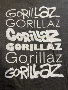 Gorillaz - 2D Grey T-Shirt (Japanese Print) - Intergalactic Records