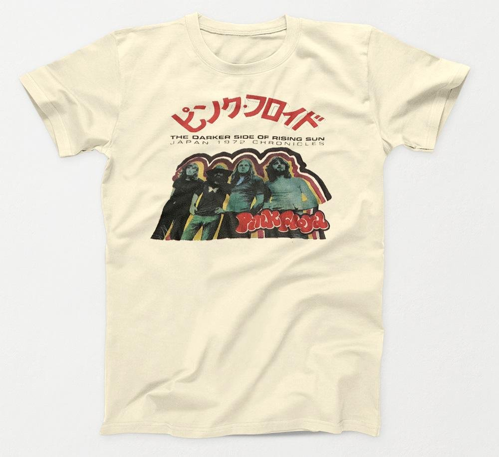Pink Floyd - Darker Side of the Rising Sun Japan 1972 Chronicles T-Shirt - Intergalactic Records