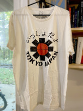 Load image into Gallery viewer, Red Hot Chili Peppers Tokyo Japan T-Shirt (White) - Intergalactic Records