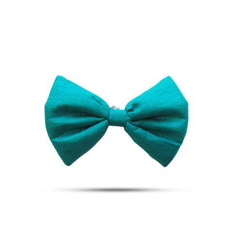 Marine Green Bow
