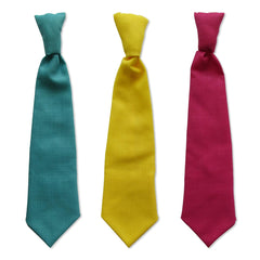 Turquoise, Yellow and Pink Ties