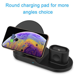 Fast Wireless Charging Stand - Linden & Burk