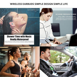 S2 Bluetooth 5.0 TWS Earphone Mini Wireless Earbuds - Linden & Burk