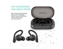 Load image into Gallery viewer, Wireless Headphones, True Wireless Bluetooth 5.0 Sports Earbuds, IPX7 Waterproof Stereo HiFi Sound, Built-in Mic Earphones - Linden & Burk