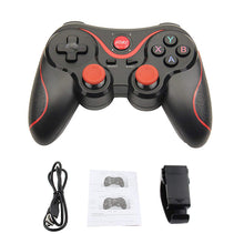 Load image into Gallery viewer, JKING T3 Bluetooth Wireless Gamepad S600 STB S3VR Game Controller Joystick For Android IOS Mobile Phones PC Game Handle - Linden & Burk