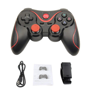 JKING T3 Bluetooth Wireless Gamepad S600 STB S3VR Game Controller Joystick For Android IOS Mobile Phones PC Game Handle - Linden & Burk