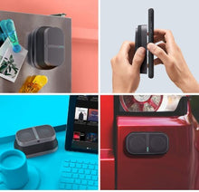 Load image into Gallery viewer, POW Mo Expandable Wireless Speaker + Universal Click Mount & Wallet, Compatible with iPhone & Android Devices - Linden & Burk