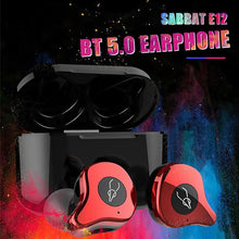 Load image into Gallery viewer, Upgraded Sabbat E12 Ultra Bluetooth Earbuds 5.0 TWS HIFI Earphone Sports In-Ear Earbuds Waterproof Headset Wireless Charging - Linden & Burk