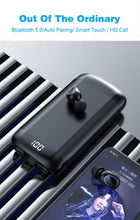 Load image into Gallery viewer, Wireless V5.0 LED Bluetooth Earphone HD Stereo Headphones Sports Waterproof Headsets With Dual Mic 4000mAh Battery Charge Case - Linden & Burk