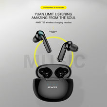 Load image into Gallery viewer, AWEI True Wireless Earbuds Bluetooth 5.0 2020 In-Ear TWS Hi-Fi Earphones Wireless In-Ears Blutooth Earphone Headset - Linden & Burk