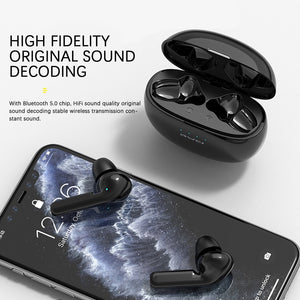 AWEI True Wireless Earbuds Bluetooth 5.0 2020 In-Ear TWS Hi-Fi Earphones Wireless In-Ears Blutooth Earphone Headset - Linden & Burk