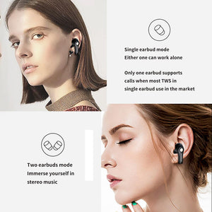 New TWS Earphones Wireless Headphone Bluetooth 5.0 Earphone Earbuds Touch Control Bass Sport Headset With Mic For Xiaomi - Linden & Burk
