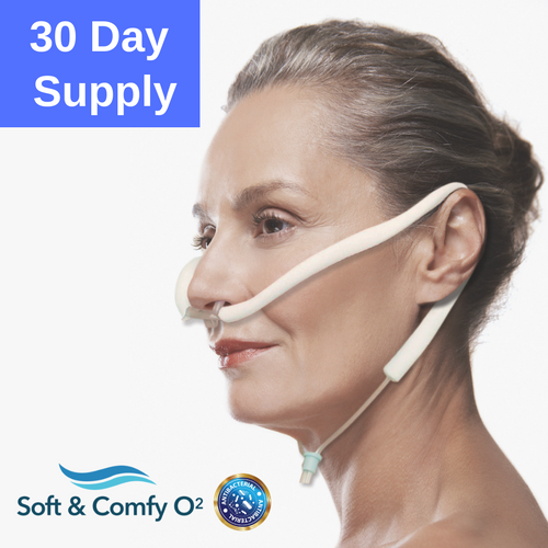 30 Day Supply - 1 Soft & Comfy O2 Nasal Cannula