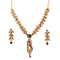 Soha Fashion Austrian Stone Gold Plated Necklace Set
