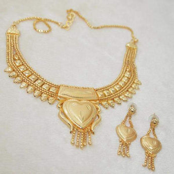 Kalyani Brass Forming Necklace Set - 1108108