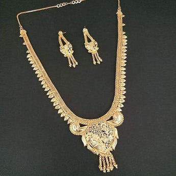 Kalyani Brass Forming Necklace Set - 1108160