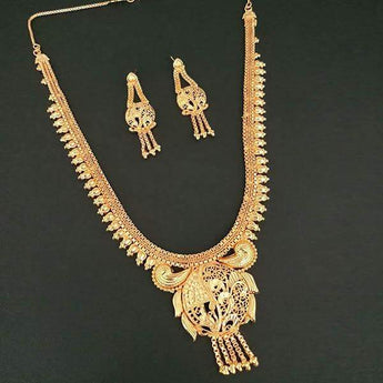 Kalyani Brass Forming Necklace Set - 1108163