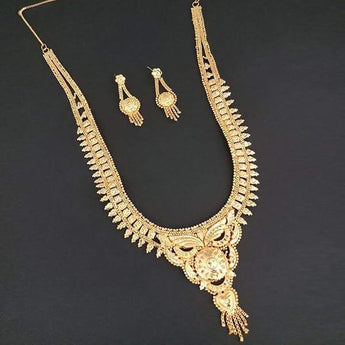 Kalyani Brass Forming Necklace Set - 1108164