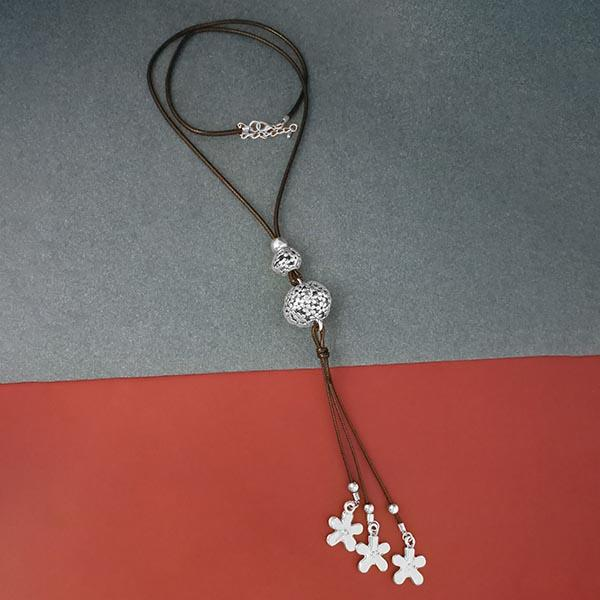 Urthn Silver Plated Fusion Necklace