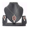 The99Jewel Austrian Stone Silver Plated Pendant Set - 1200403