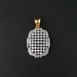 Kriaa AD Stone Gold Plated Pendant - 1202172