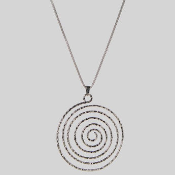 Urthn Rhodium Plated Chain Pendant - 1203005