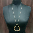 Urthn Gold Plated Chain Pendant