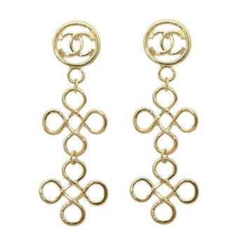 Beadside Gold Plated Dangler Earrings - 1302854