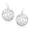 Kriaa Silver Plated Dangler Earrings