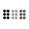 14Fashions Multicolor 9 Pair Of Stud Earrings Set - 1309205B