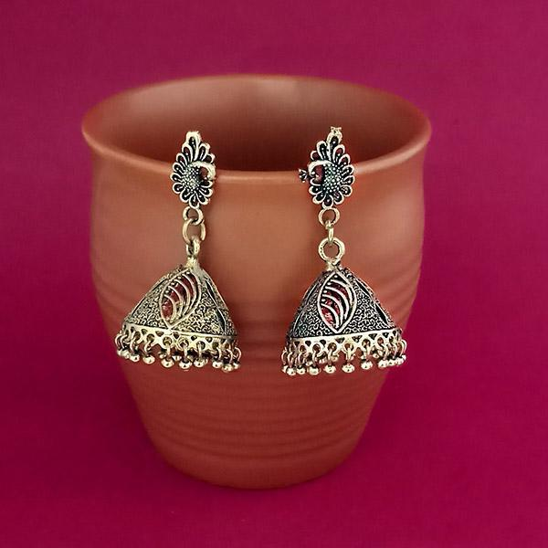 Jeweljunk Gold Plated Jhumki Earrings - 1309382