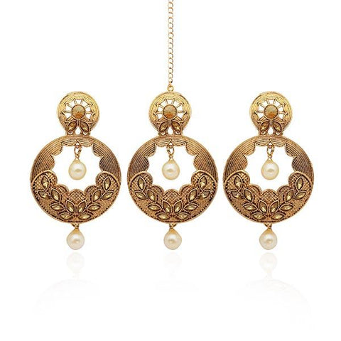 Maang Tikka Earrings
