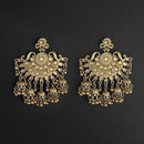 Jeweljunk Gold Plated Dangler Earrings  - 1314862