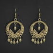 Jeweljunk Gold Plated Dangler Earrings - 1314865B